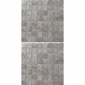 Hampton Collection by Emil Ceramica 12x12 in. Mosaic - Grey