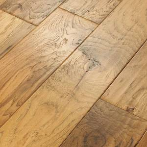 Picasso Hickory Collection by Anderson Tuftex Hardwood 6 3/8 in. - Crema