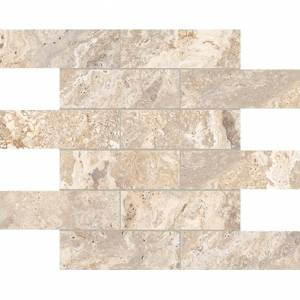 Antico Collection by Anatolia Tile Mosaic 2x6 in. - Ivory