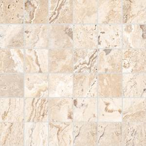 Antico Collection by Anatolia Tile Mosaic 2x2 in. - Sand