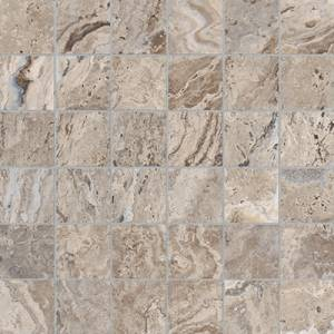 Antico Collection by Anatolia Tile Mosaic 2x2 in. - Walnut