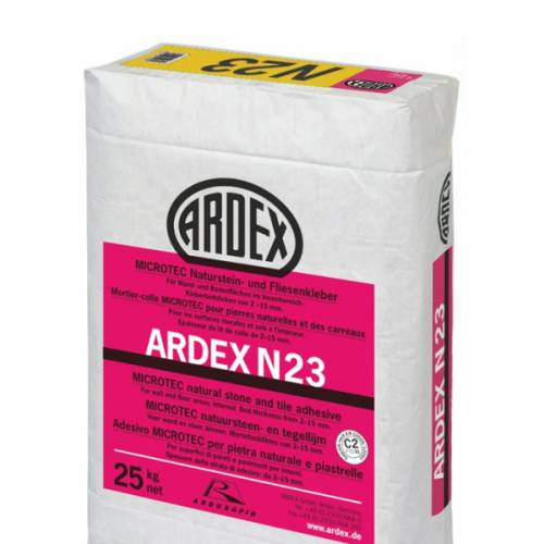 ARDEX N 23 Microtec Rapid Set Natural Stone and Tile Mortar