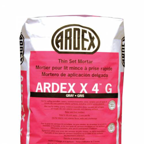 ARDEX X 4 Tile and Stone Mortar
