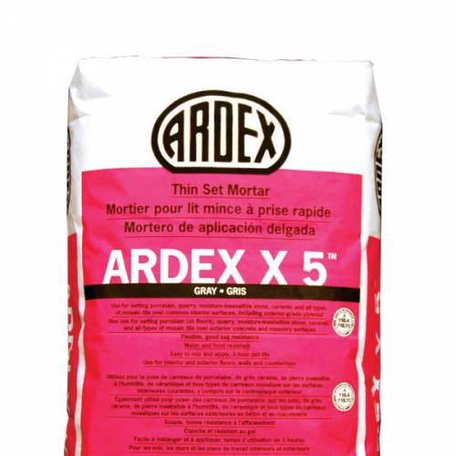 ARDEX X 5 Flexible Tile and Stone Mortar