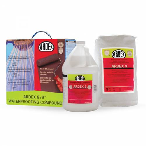 ARDEX 8+9 Rapid Waterproofing Compound