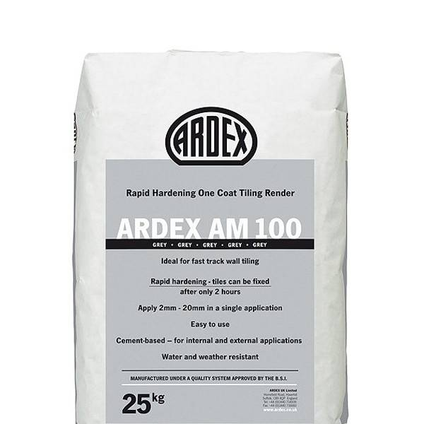 Ardex Am 100 Ramping Mortar