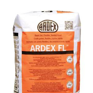 ARDEX FL - Rapid-set, Flexible, Sanded Grout