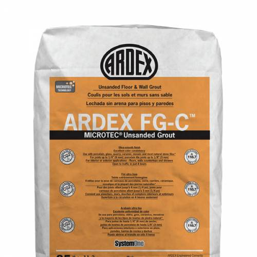 ARDEX FG-C - Unsanded Floor & Wall Grout