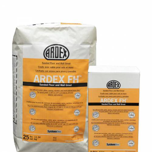 ARDEX FH - Sanded Floor and Wall Grout