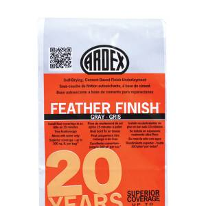 ARDEX FEATHER FINISH - Cement-Based Finish Underlayment