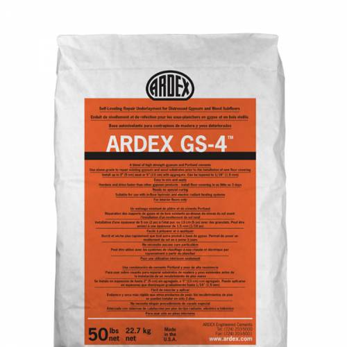 ARDEX GS4 - Self-Leveling Repair Underlayment