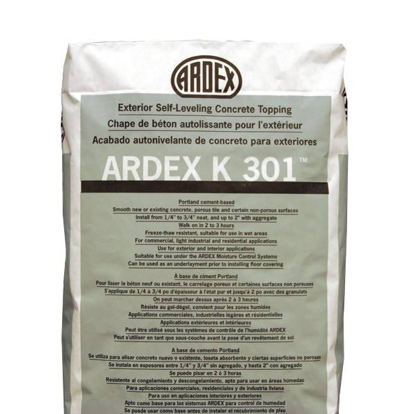Ardex K301 Exterior Self Leveling Topping