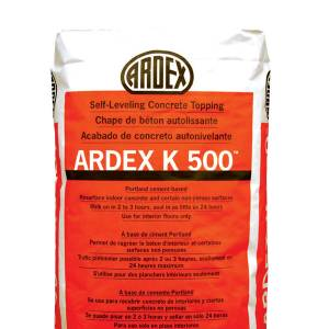 ARDEX K500 - Self-Leveling Concrete Topping