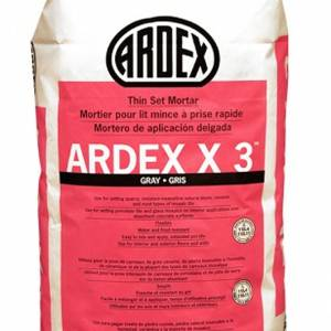 ARDEX X 3 Tile and Stone Mortar
