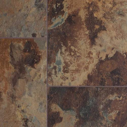 Axis Pro 12 Collection by AxisCor Vinyl Tile 12x24 Copper Stone