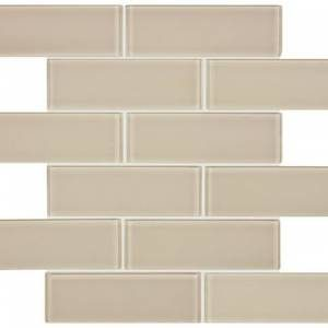 Bliss Glass - Element Series 2x6 Glass Brick Mosaics