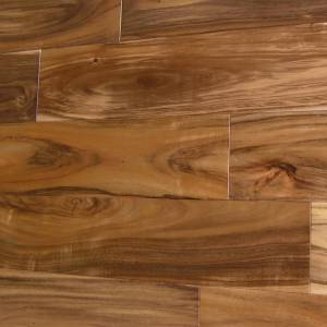 Asian Walnut Flat Solid Collection by Casabella Solid Hardwood 4-3/4 in. Asian Walnut - Natural