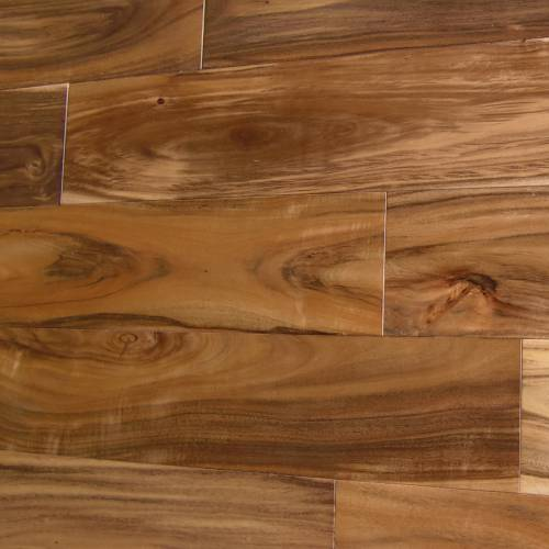 Asian Walnut Flat Solid Collection Solid Hardwood 4-3/4 in. Asian Walnut - Natural
