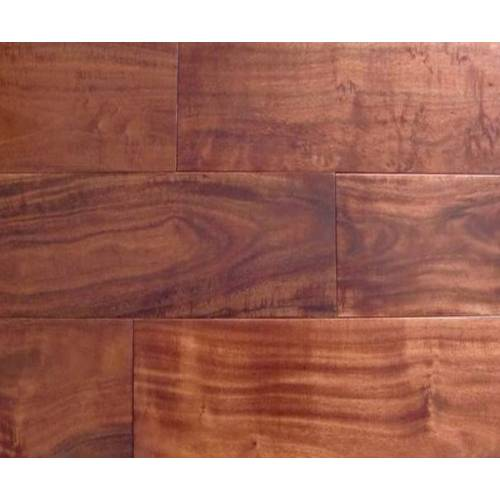 Asian Walnut Flat Solid Collection by Casabella Solid Hardwood 4-3/4 in. Asian Walnut - Champagne