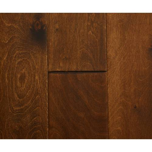 Countryside Birch Collection by Casabella Engineered Hardwood 5 in. Birch - Antique Brown