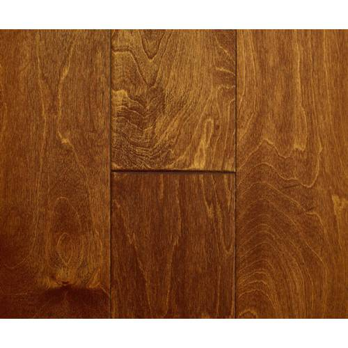 Countryside Birch Collection by Casabella Engineered Hardwood 5 in. Birch - Autumn Gold