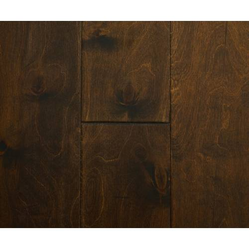 Countryside Birch Collection by Casabella Engineered Hardwood 5 in. Birch - Black Forest