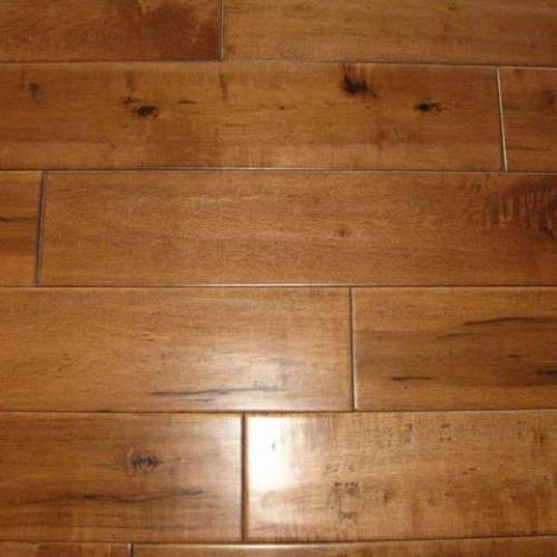 Cottage Maple Collection Engineered Hardwood 5 in. Maple - Suede