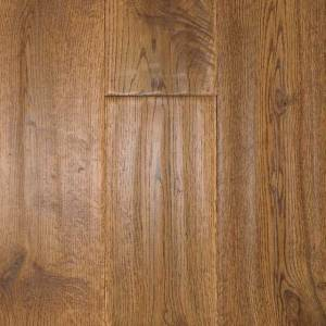 Handscraped Oak Collection by Casabella Solid Hardwood 4-3/4 in. Oak - Butterscotch