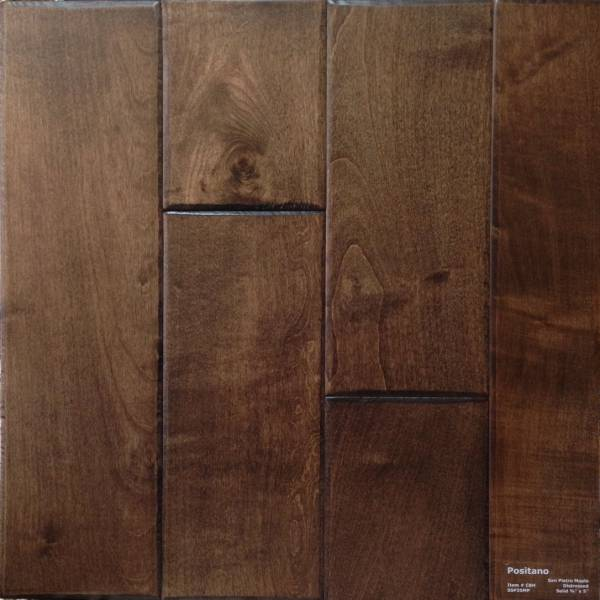 San Pietro Maple Solid Hardwood 5 In European Maple Turin