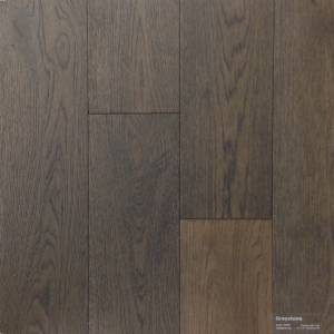 Tradewinds Collection by Casabella Engineered Hardwood 5 in. Oak - Greystone