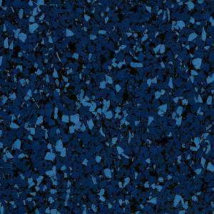 Fastrack Interlocking Collection by Centaur Floors Rubber Tile 23x23 Blue 95