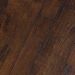 Random Width Collection by Green Touch Flooring Laminate 3.54/5.63/7.72x47.87 Coffee Maple