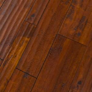 Random Width Collection by Green Touch Flooring Laminate 3.54/5.63/7.72x47.87 Cognac Maple