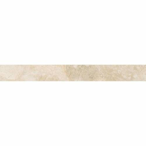 Amira Collection by Happy Floors Porcelain Tile 3x24 Bullnose Natural