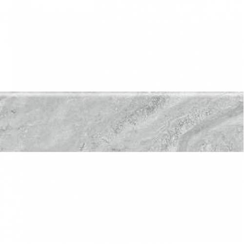 Antalya Collection by Happy Floors Porcelain Tile 3x12 in. Bullnose - Grey