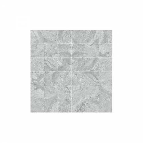Antalya Collection by Happy Floors Mosaic Tile 2x2 Grey