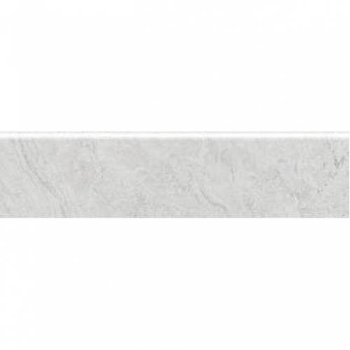 Antalya Collection by Happy Floors Porcelain Tile 3x12 in. Bullnose - White