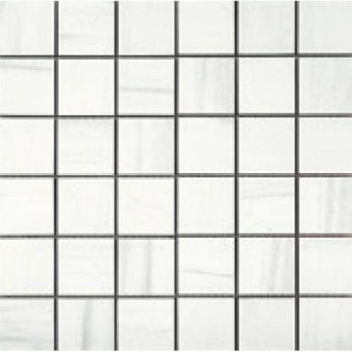 Apollo Collection by Happy Floors Mosaic Tile 2x2 White