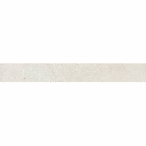 Arona Collection by Happy Floors Porcelain Tile 3.2x24 Bullnose Bianco Natural