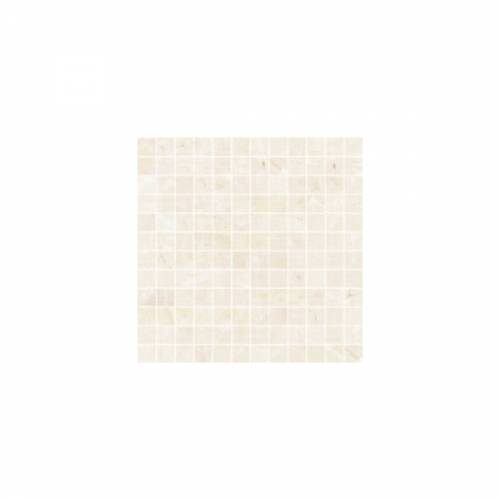 Arona Collection by Happy Floors Mosaic Tile 1x1 Bianco