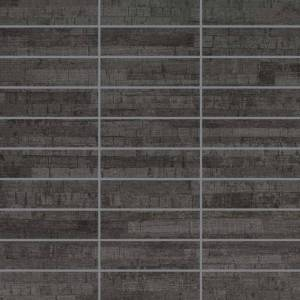 Asia Collection by Happy Floors Mosaic Tile 1.25x4 Antracite