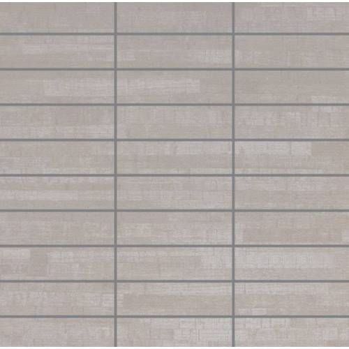 Asia Collection by Happy Floors Mosaic Tile 1.25x4 Grigio