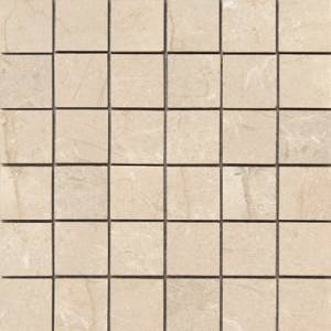 Atessa Collection by Happy Floors Mosaic Tile 2x2 Natural