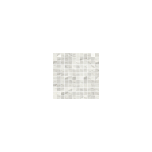 Bardiglio Collection by Happy Floors Mosaic Tile 1x1 Bianco Polished