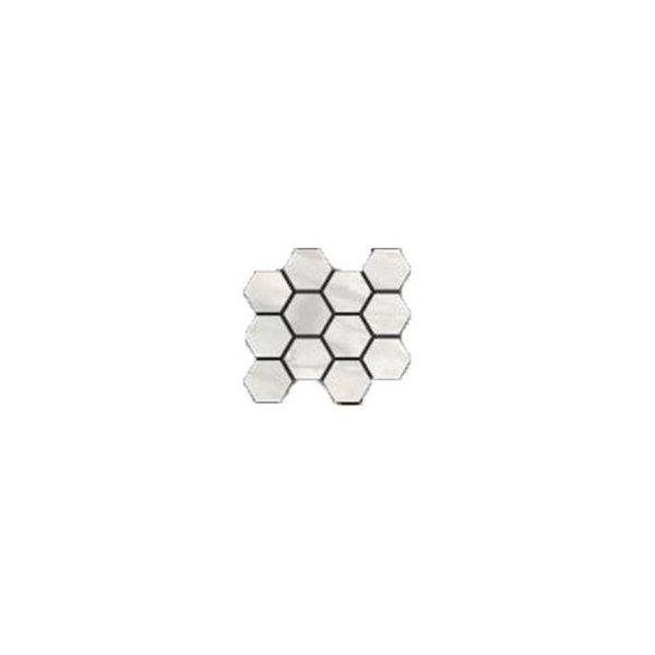 Hexagon Bianco Polished