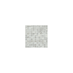 Bardiglio Collection by Happy Floors Mosaic Tile 1x1 Grigio Natural
