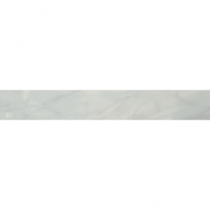 Bardiglio Collection by Happy Floors Porcelain Tile 3x24 Bullnose Grigio Natural