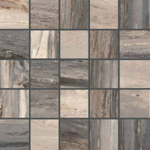 Bellagio Collection by Happy Floors Mosaic Tile 2.4x2.4 Forest