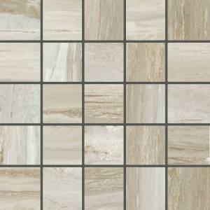 Bellagio Collection by Happy Floors Mosaic Tile 2.4x2.4 Sand