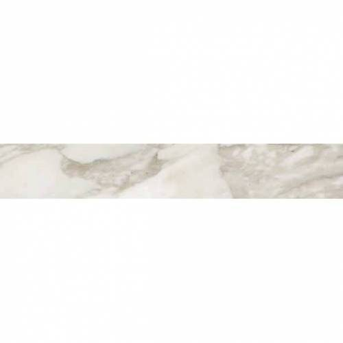 Calacatta Collection by Happy Floors Porcelain Tile 3.2x12.6 in. Bullnose - Semi-Polished